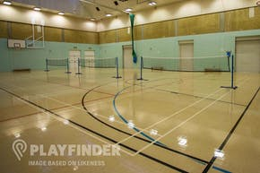 Stoke Newington School | Hard Badminton Court