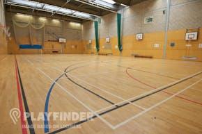 St Mark's Academy | Sports hall Basketball Court