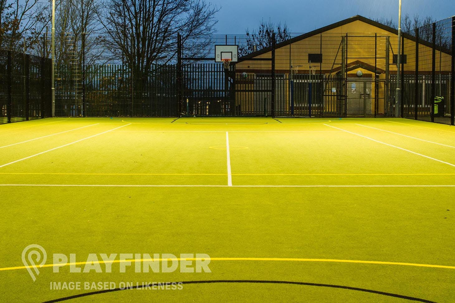 dlr Meadowbrook Outdoor | Astroturf basketball court