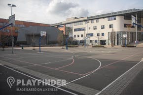 Platt Fields Park | Hard (macadam) Basketball Court