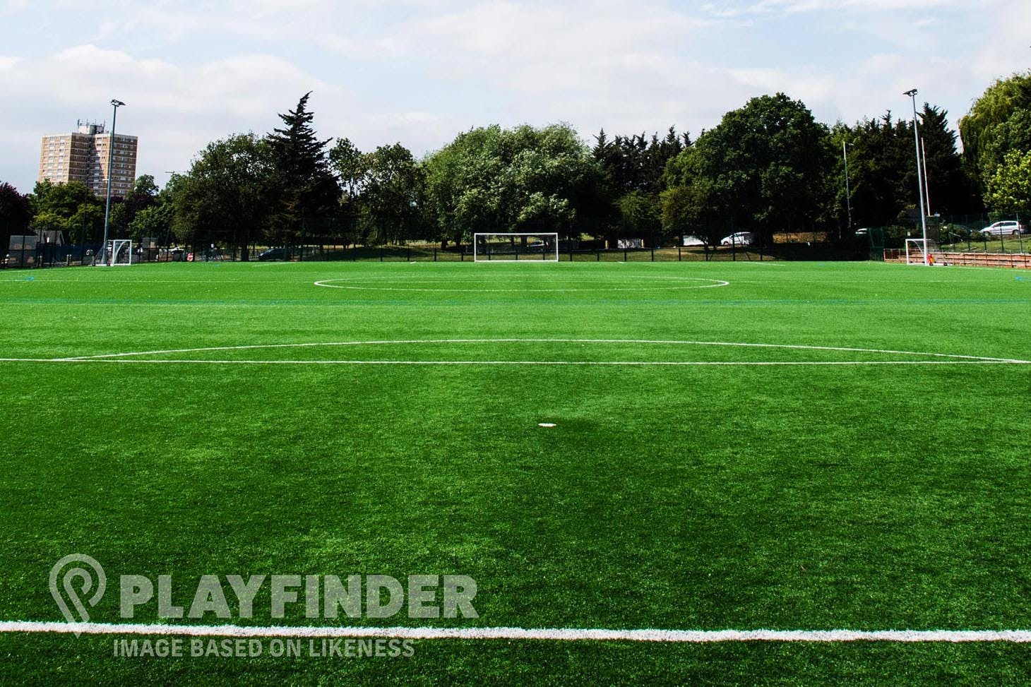 Old Trafford Sports Barn 11 a side | 3G Astroturf football pitch