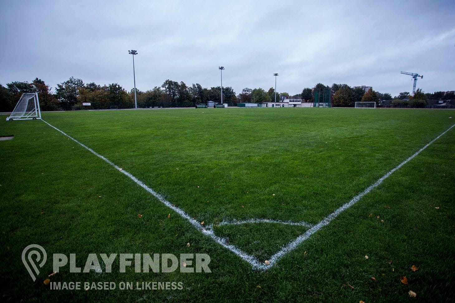 Hough End Fields 11 a side | Grass football pitch