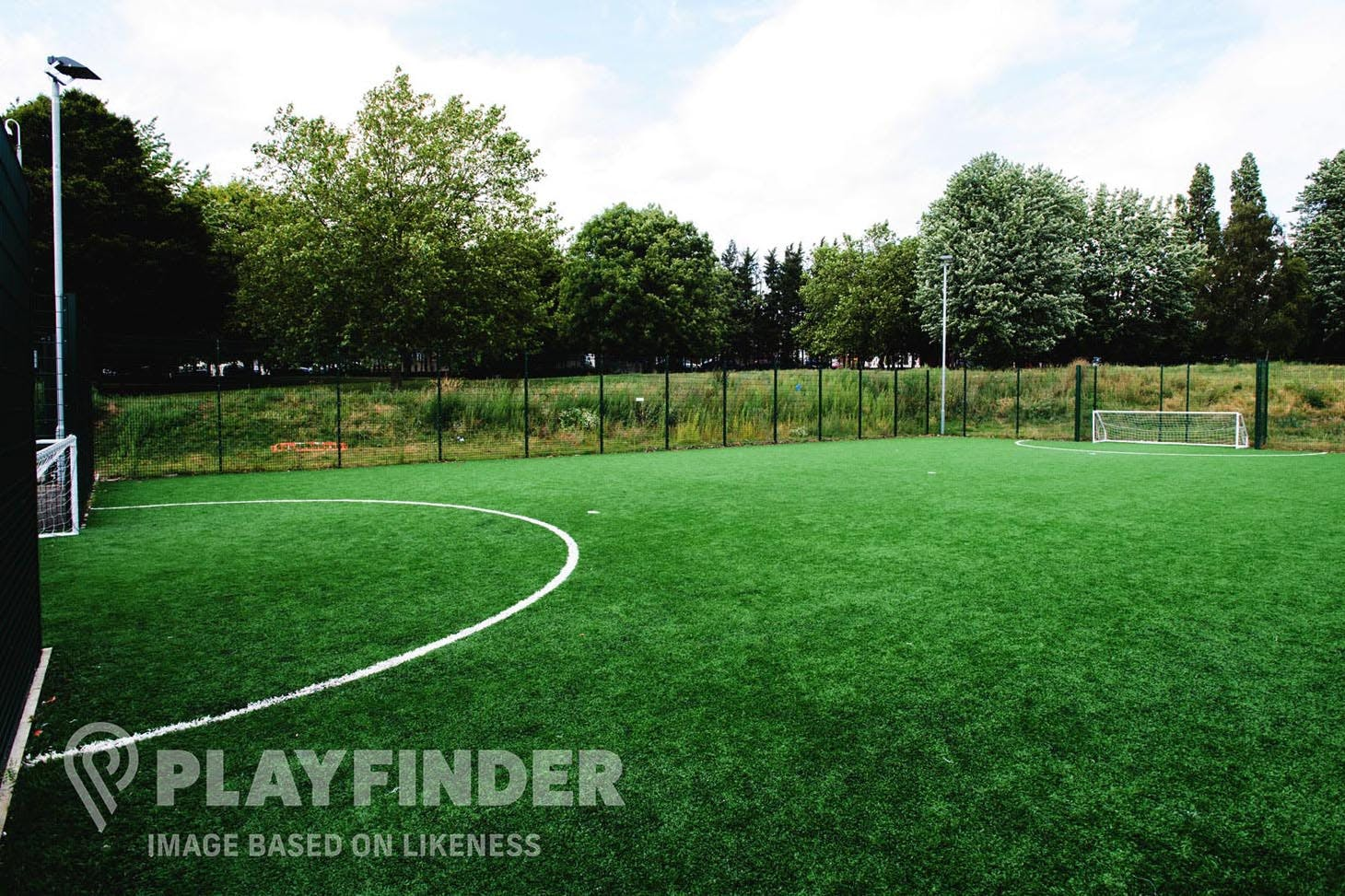 Factory Youth Zone 5 a side | 3G Astroturf football pitch