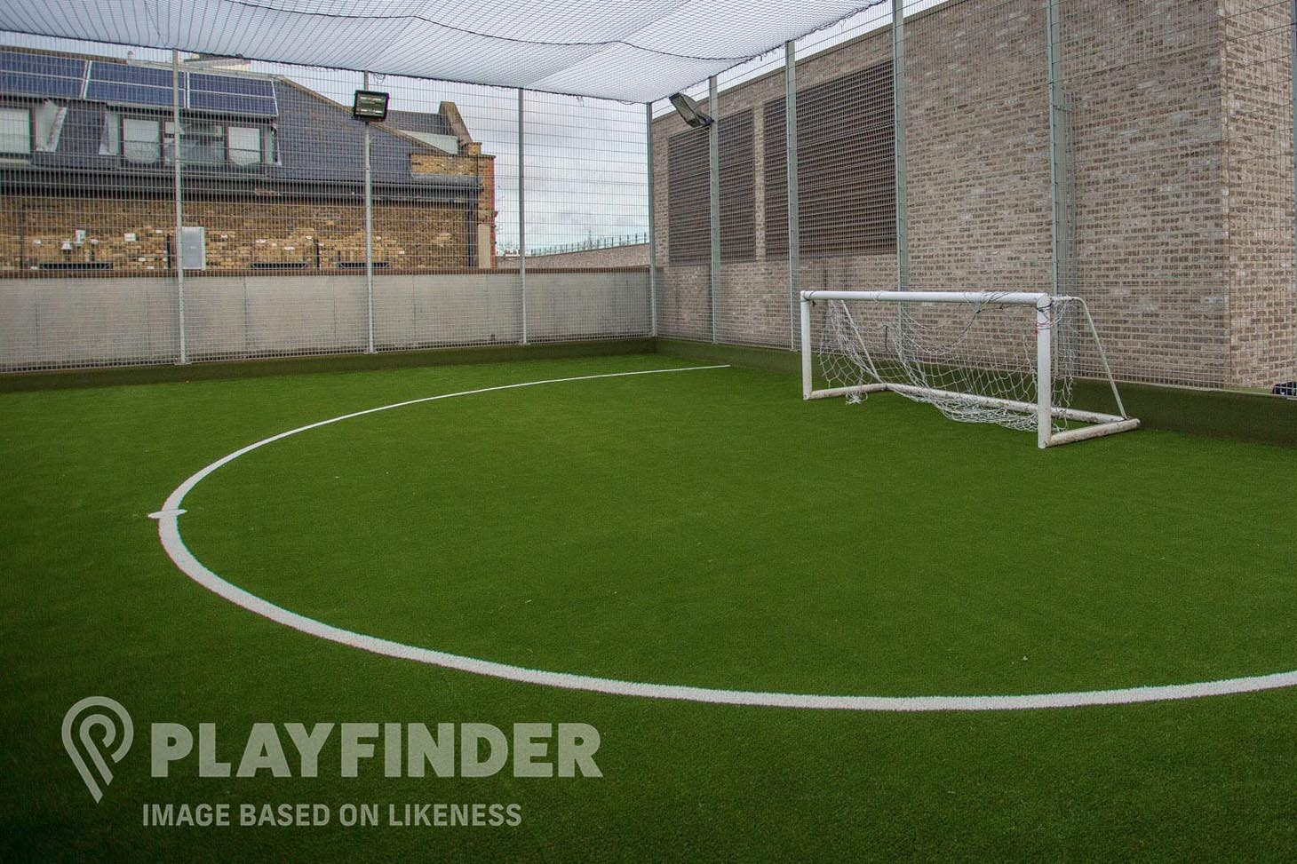 Heaton School 5 a side | Astroturf football pitch