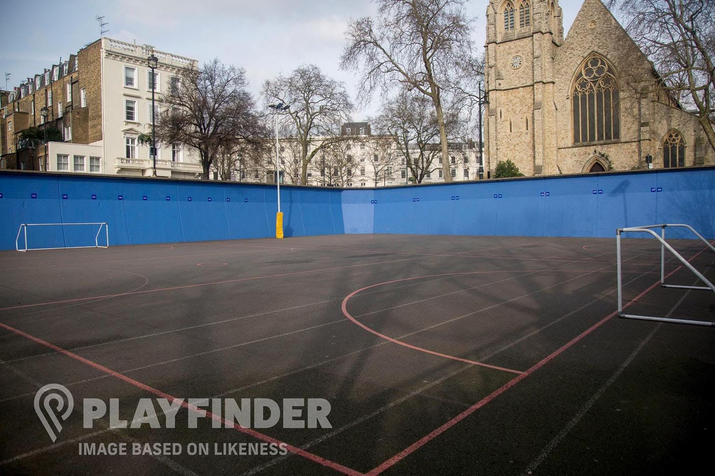 Green End Primary School 5 a side | Concrete football pitch