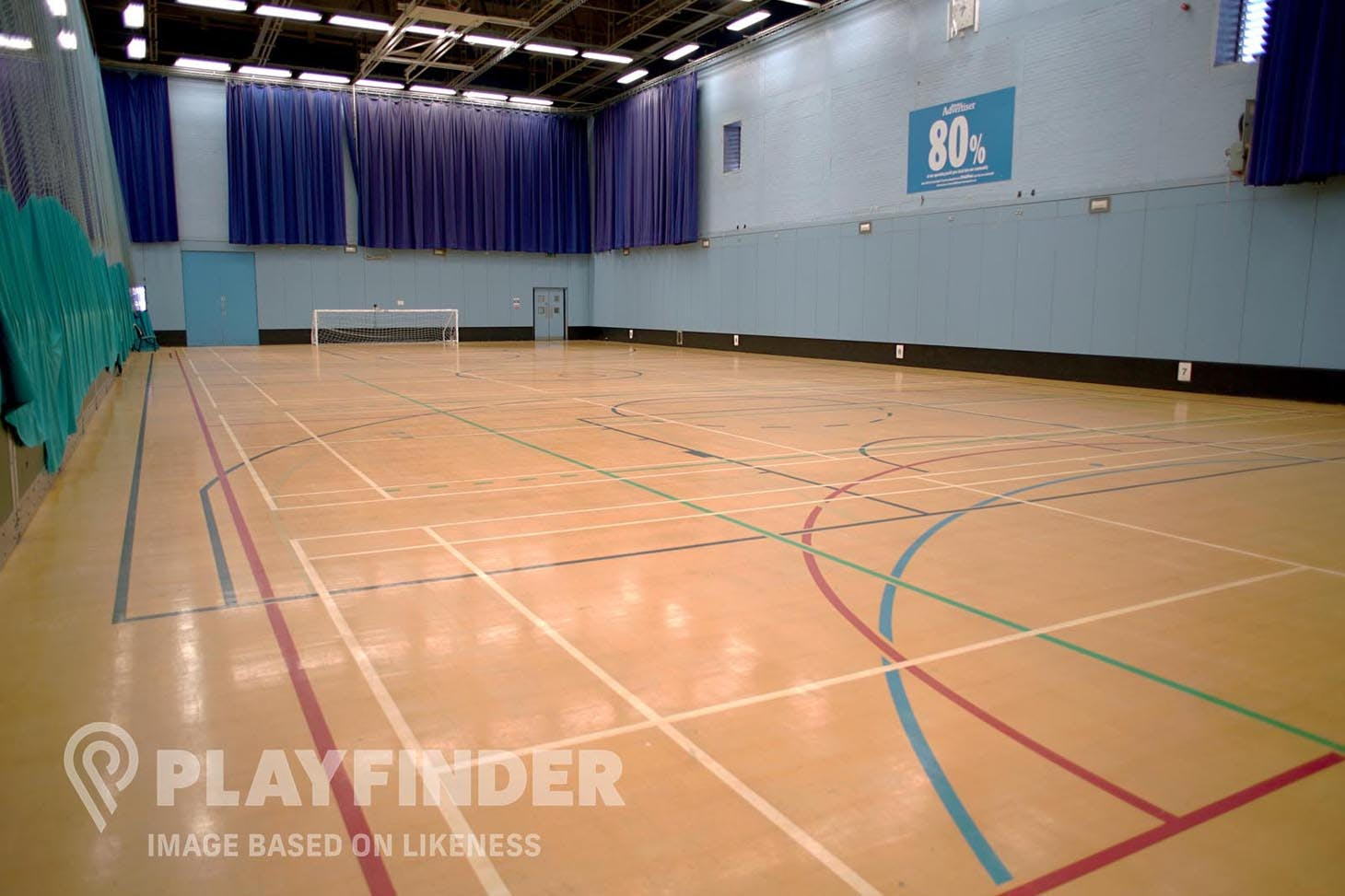 Buxton School 5 a side | Indoor football pitch