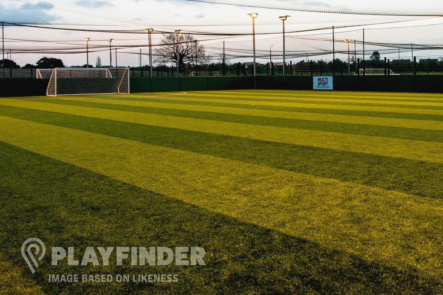 Factory Youth Zone 7 a side | 3G Astroturf football pitch
