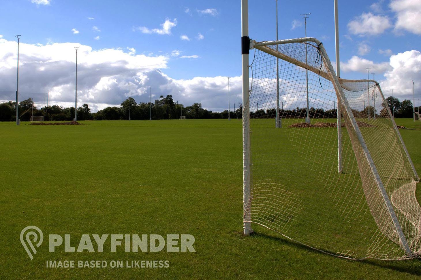 St Finians GAA Club Full size | Grass gaa pitch
