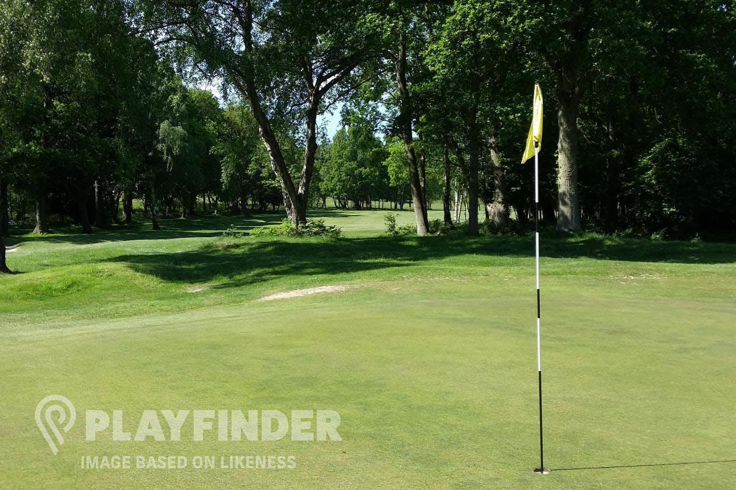Edmonton Leisure Centre 9 hole golf course