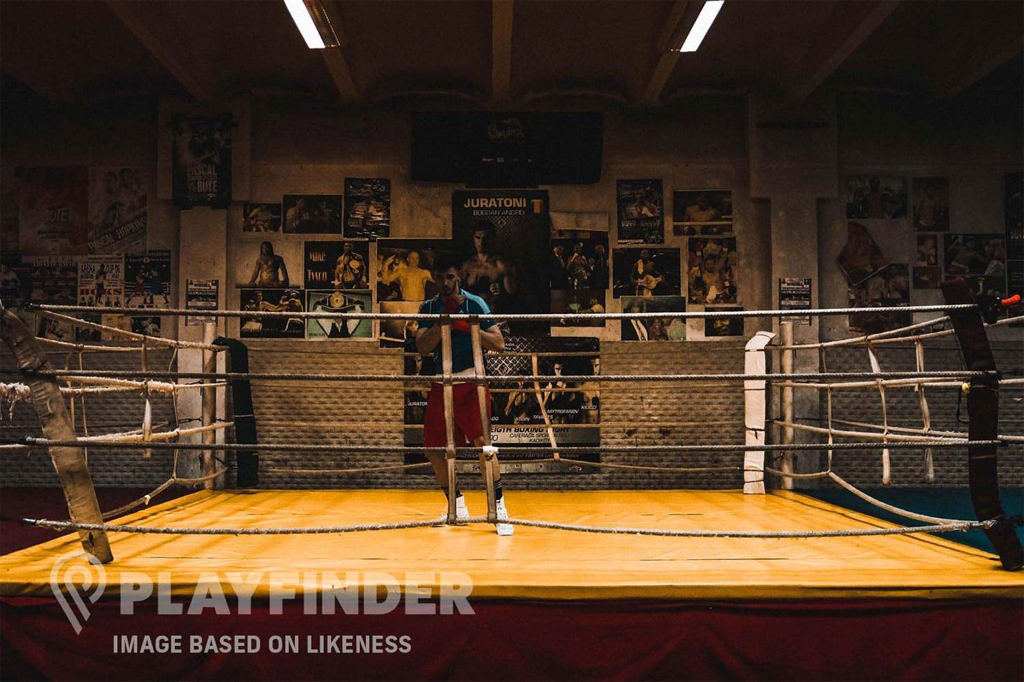 Leyton Sports Ground Boxing gym   Hard gym