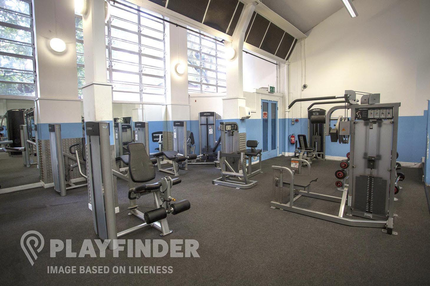 Platt Lane Complex Indoor gym