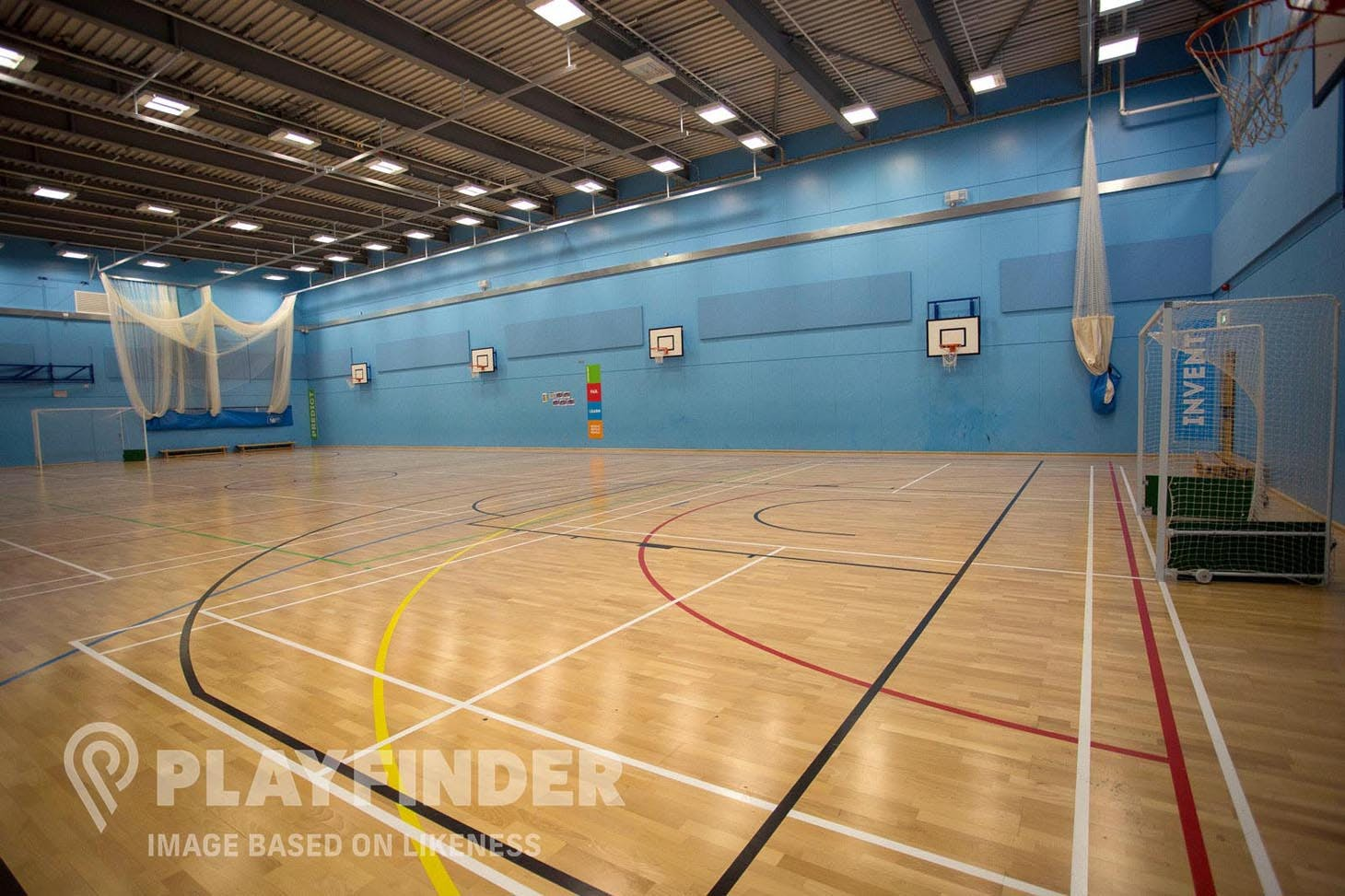 Cabra Parkside Community and Sports Centre Indoor hockey pitch