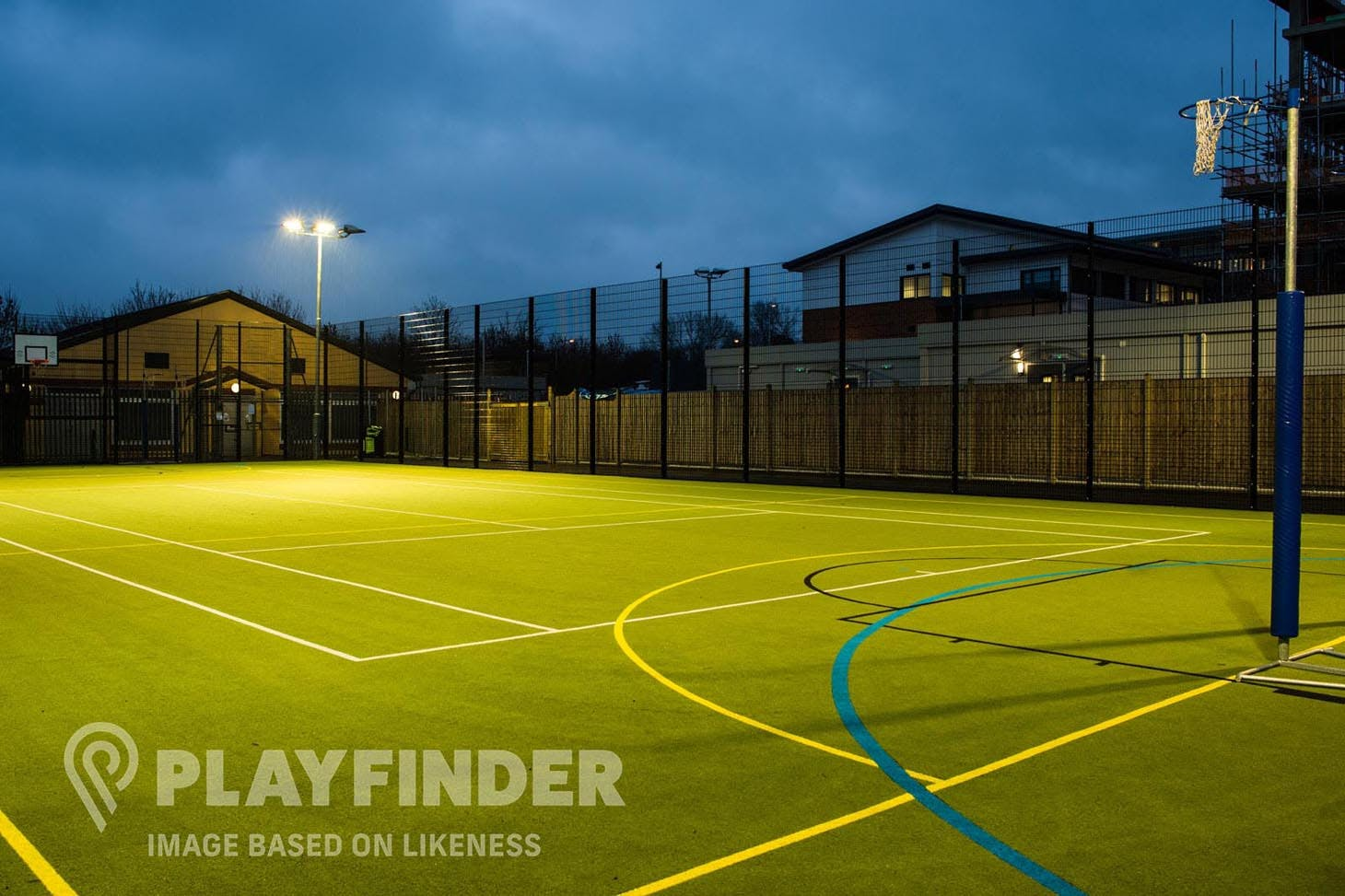 St. Bede's College Outdoor | Astroturf netball court