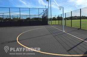Luton Sixth Form College | Hard (macadam) Netball Court