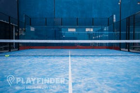 Stratford Padel Club | Sand-based astroturf Padel Tennis Court