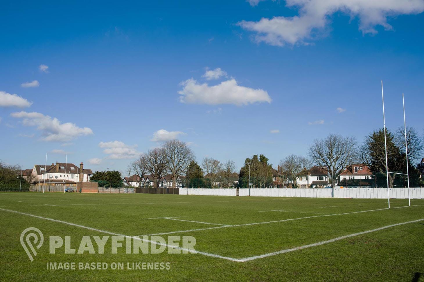 St Egberts Playing Fields Union | Grass rugby pitch