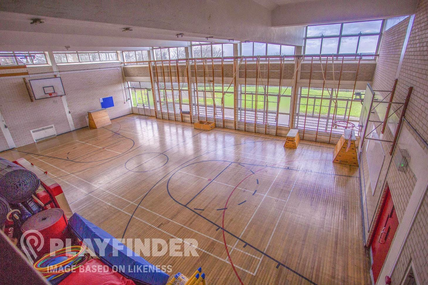 Carshalton High School For Girls Gymnasium space hire