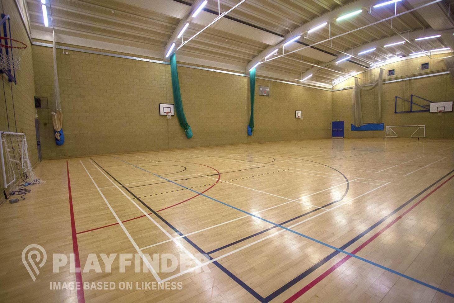 Luton Sixth Form College Sports hall space hire