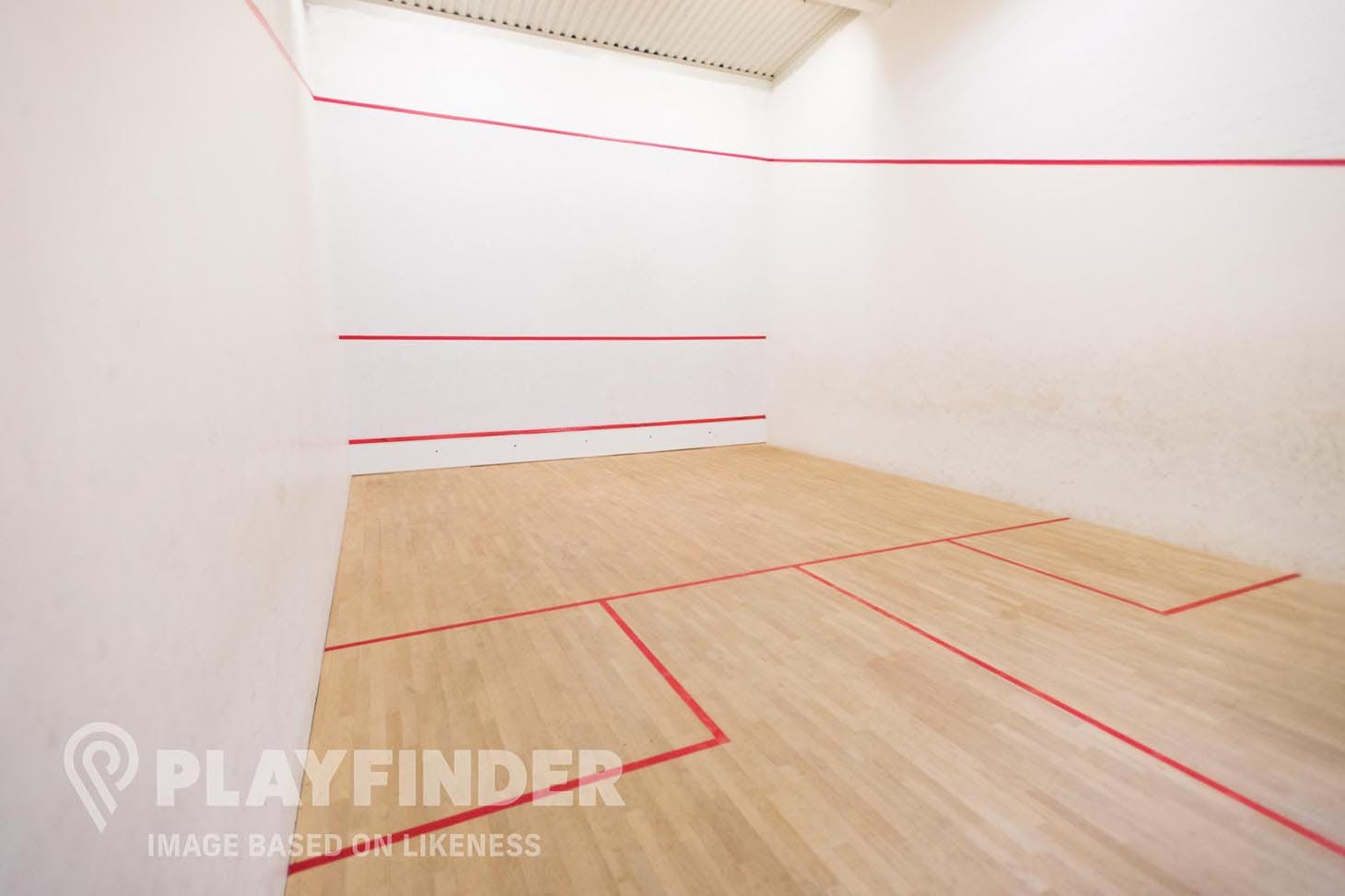 Hough End Leisure Centre Indoor | Hard squash court