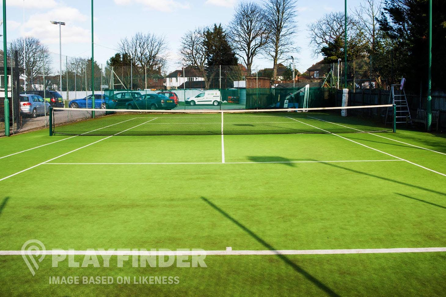 St. Bede's College Outdoor | Astroturf tennis court