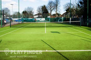 St. Bede's College | Astroturf Tennis Court
