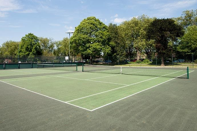 Tennis Courts in London