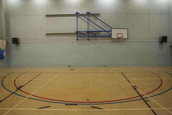 Basketball Courts in Manchester