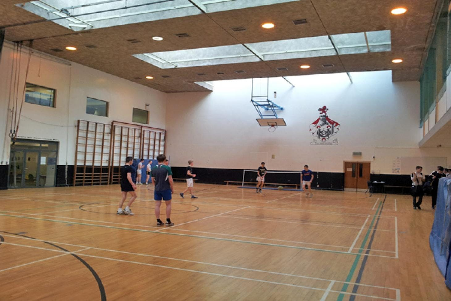 Belvedere College Indoor | Hard badminton court