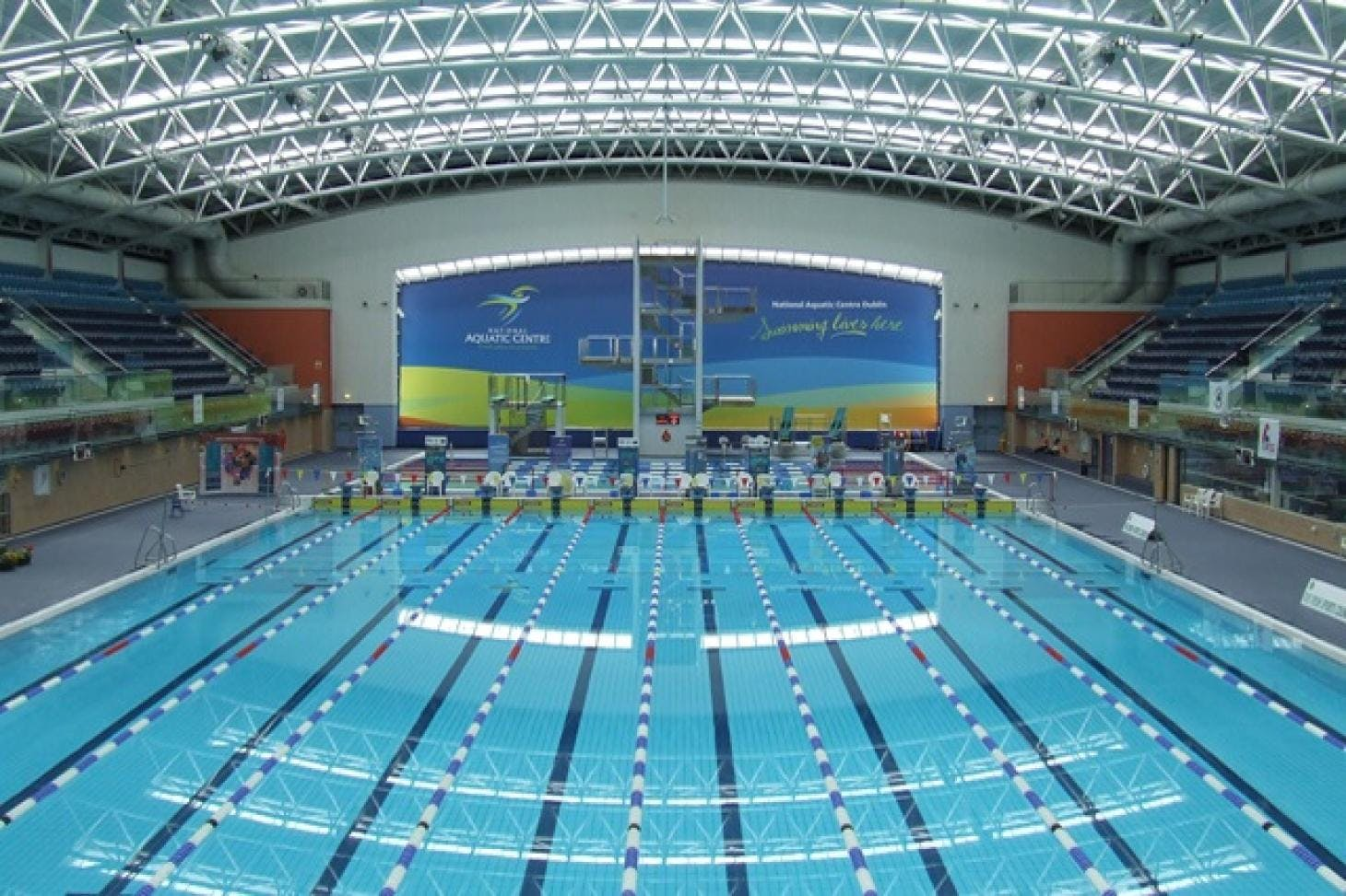 National Sports Campus Indoor swimming pool