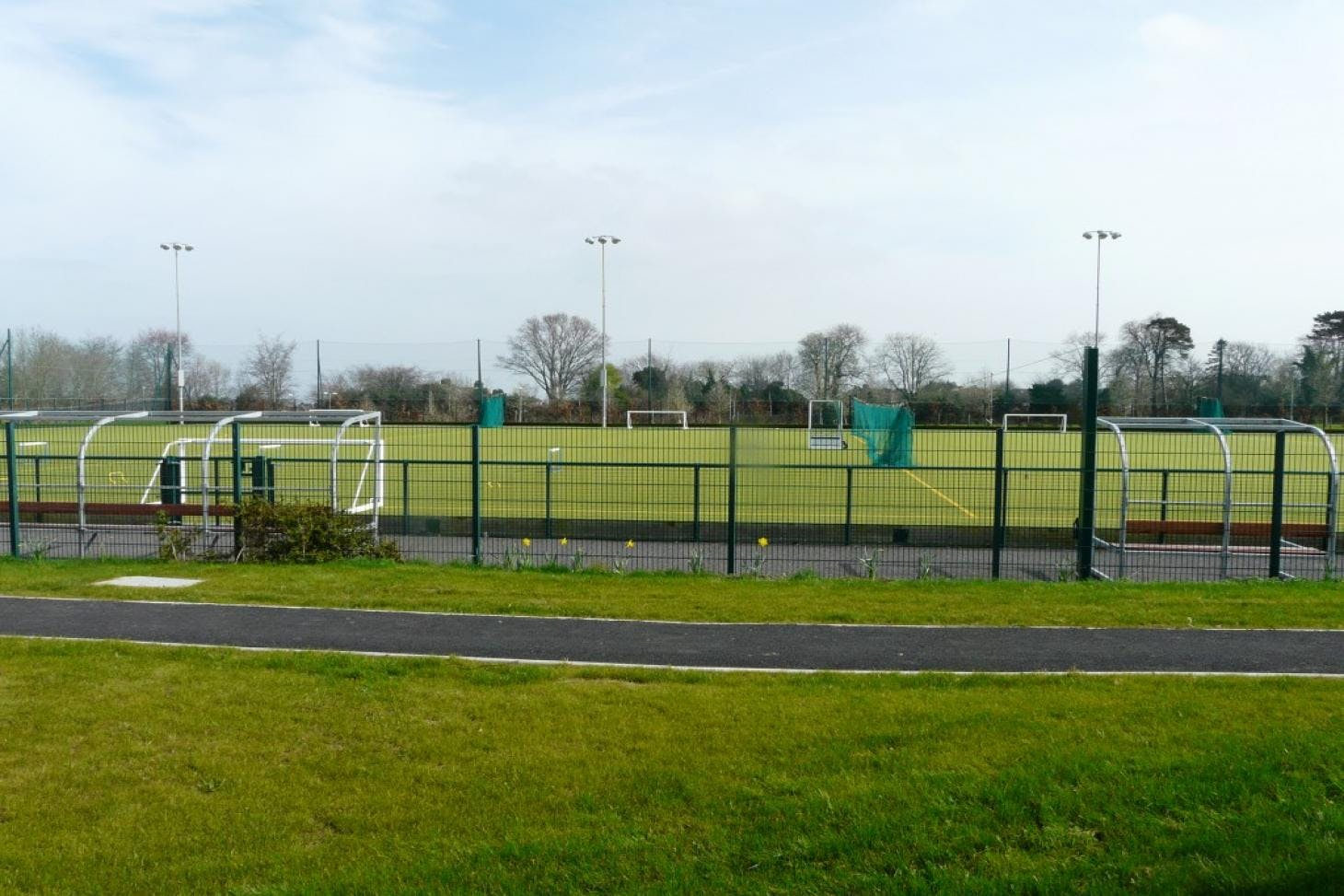 St. Raphaela's Secondary School Outdoor | Astroturf hockey pitch