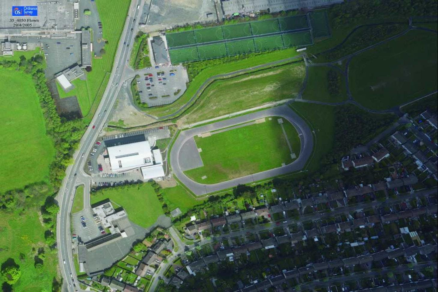Tallaght Athletic Club Outdoor | Artificial athletics track