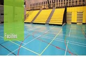 University College Dublin | Hard Badminton Court