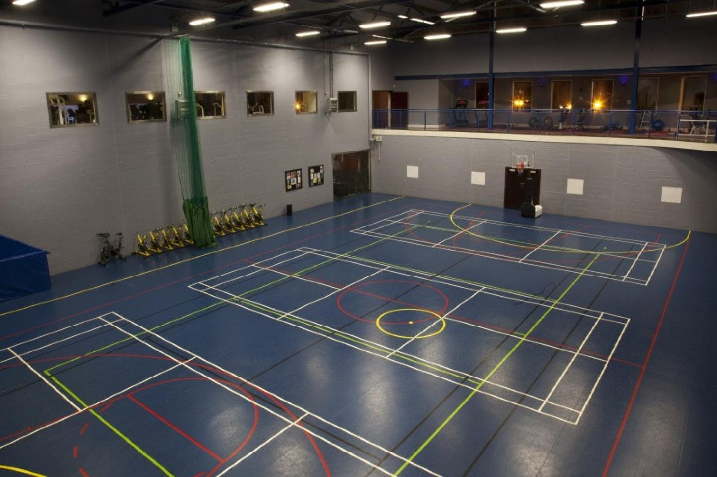 Westmanstown Sports & Conference Centre Indoor basketball court