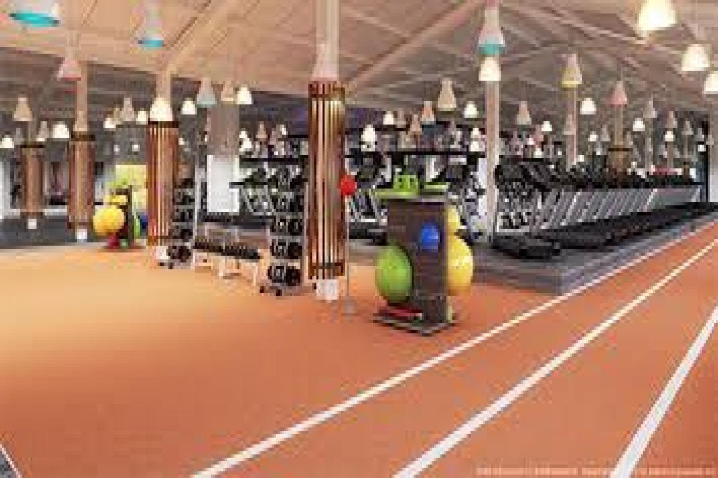West Wood Health Club, Clontarf Indoor gym