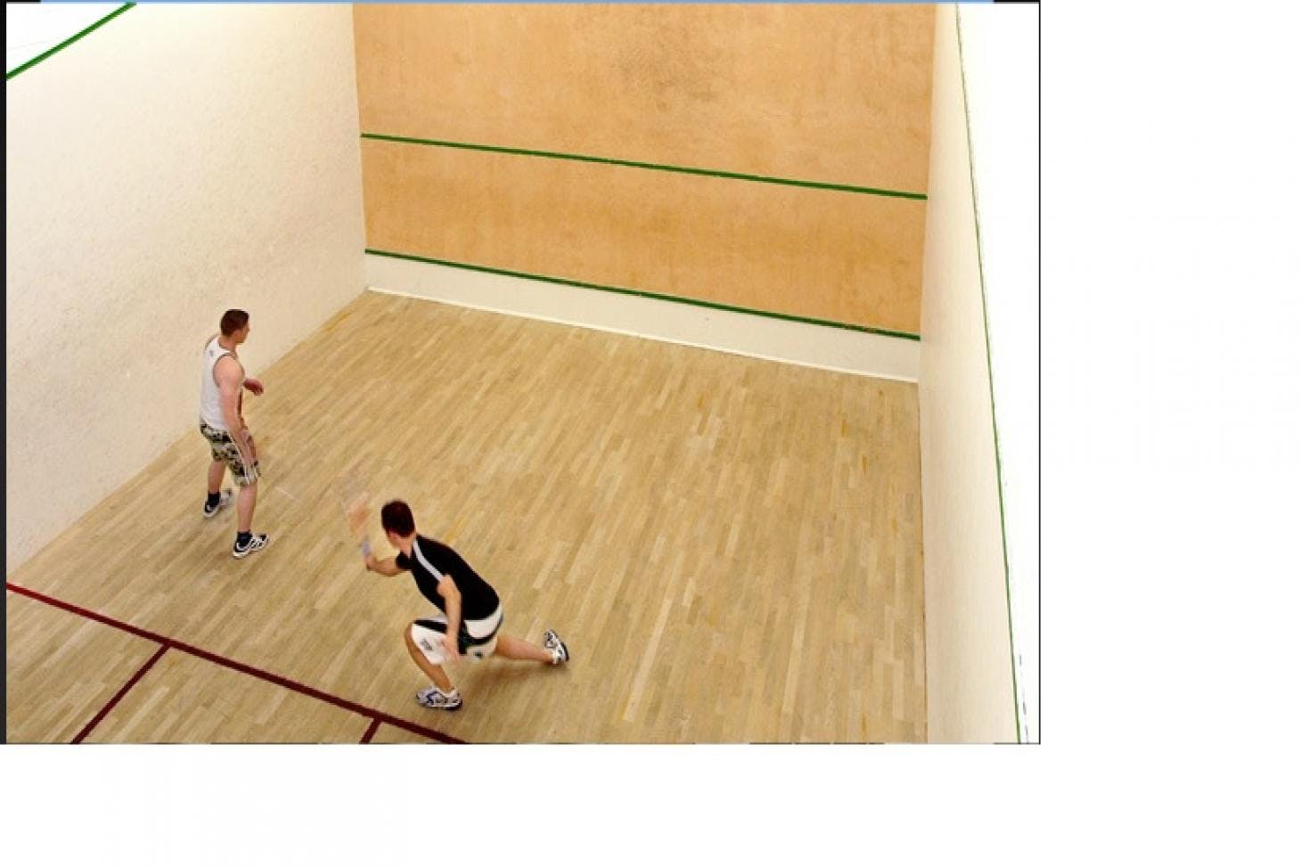 West Wood Health Club Indoor | Hard squash court