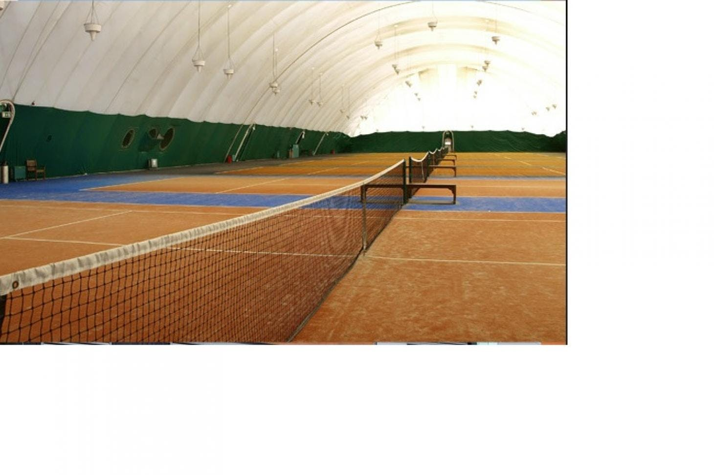 West Wood Health Club, Leopardstown Indoor tennis court