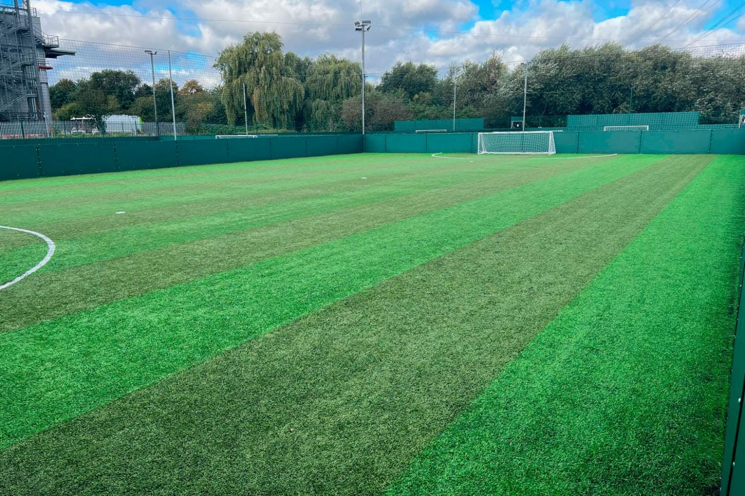 Powerleague Newham 5 a side   3G Astroturf football pitch