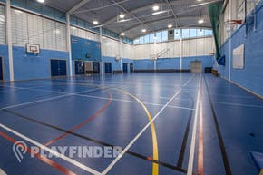 Ark Burlington Danes Academy | Sports hall Netball Court