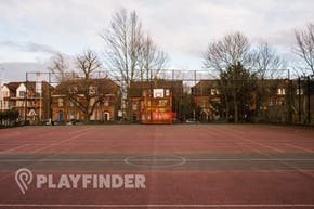 Harris City Academy Crystal Palace | Concrete Netball Court