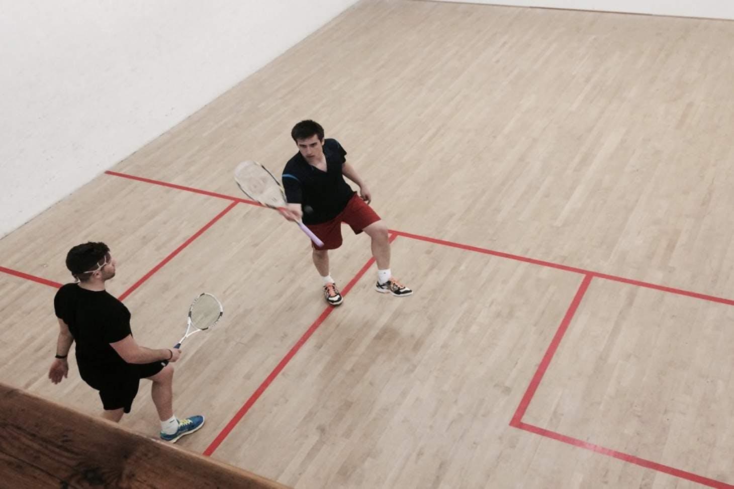 Grafton Lawn Tennis Club Indoor | Hard squash court