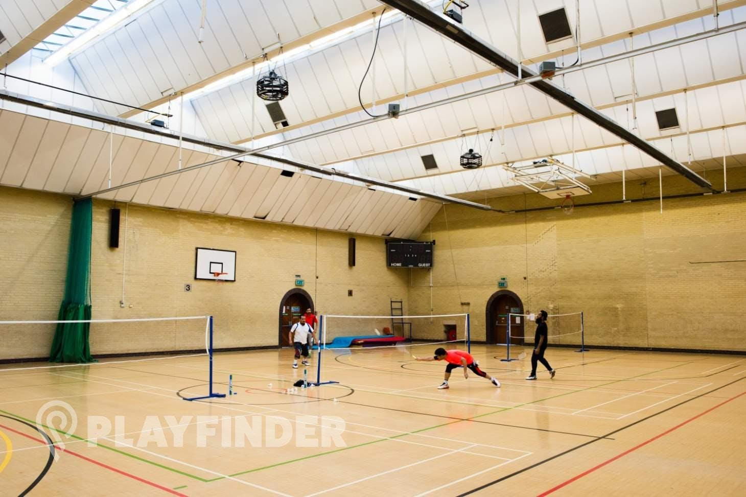 John Orwell Sports Centre Indoor | Hard badminton court