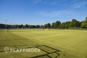 Capital City Academy | Astroturf Tennis Court