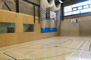 Bridge Academy | Indoor Netball Court