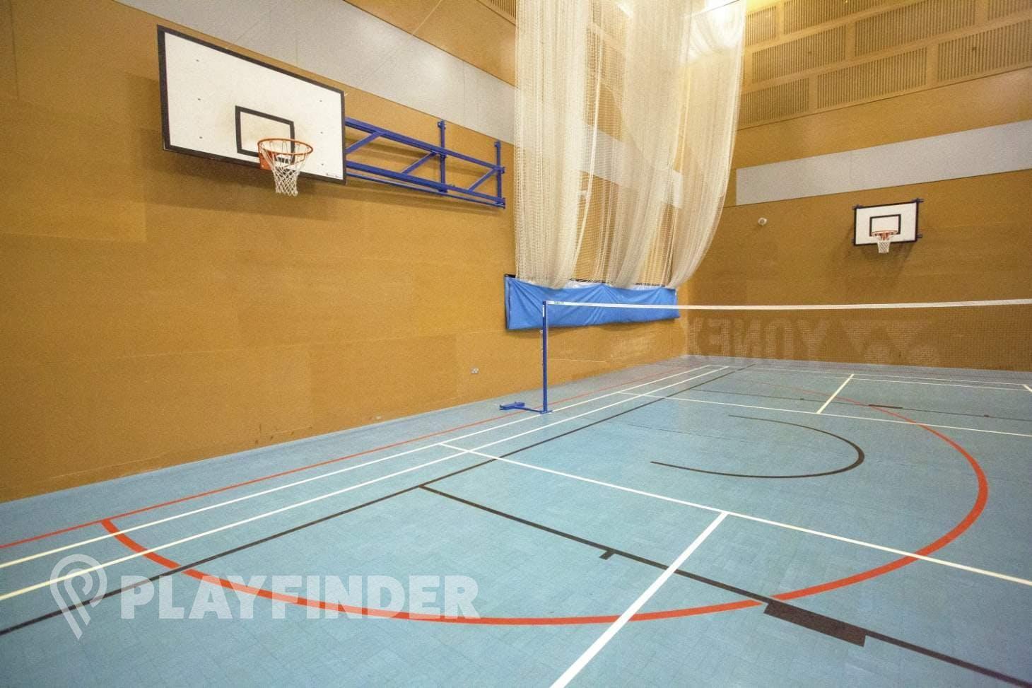 Globe Academy Indoor netball court