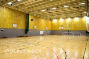 Isaac Newton Academy | Indoor Netball Court