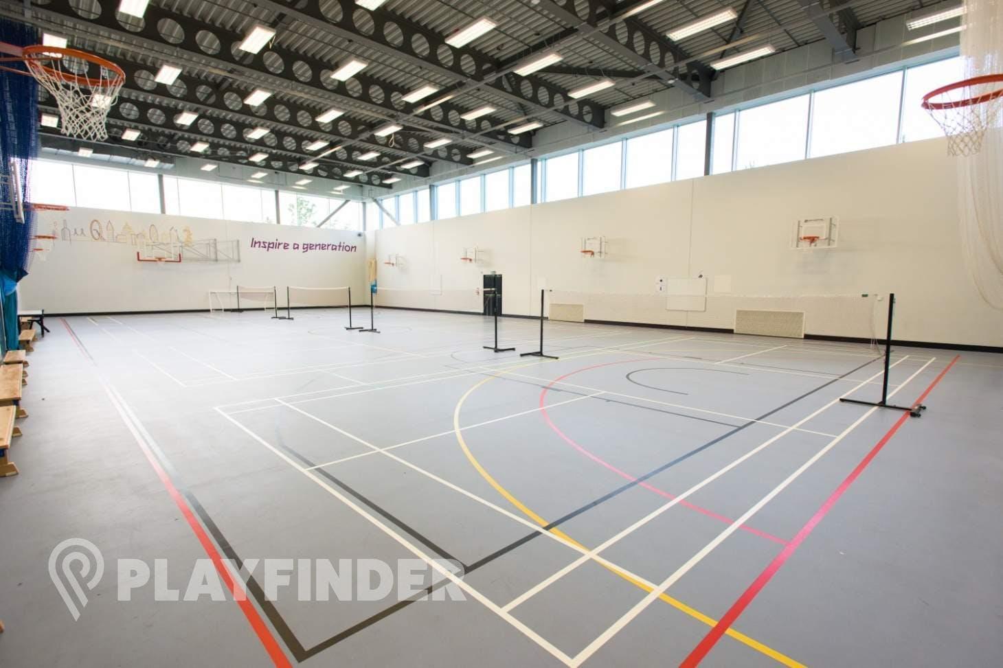 Chobham Academy Indoor netball court