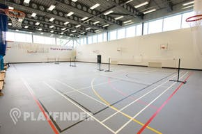Chobham Academy | Sports hall Netball Court