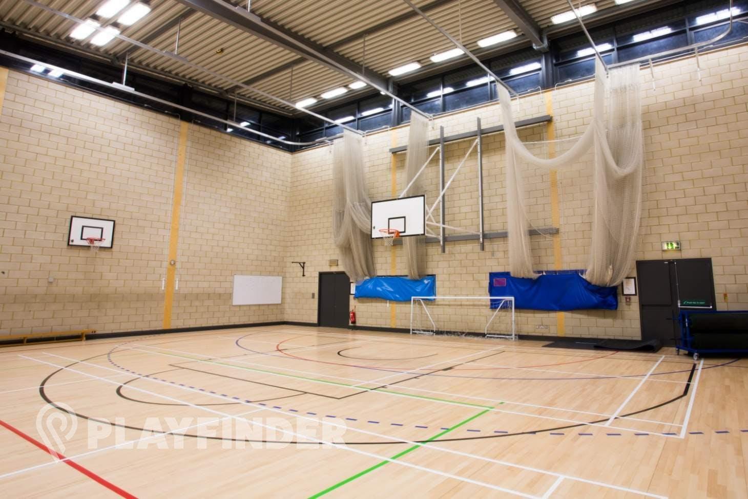 Brentside High School Indoor netball court