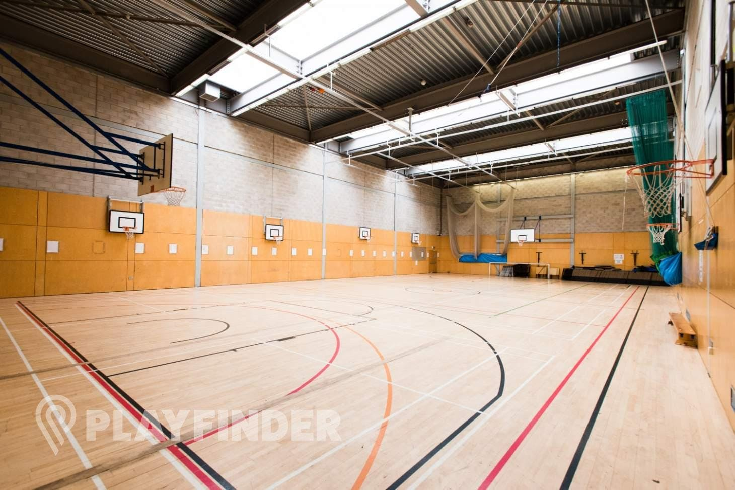 Haverstock School 5 a side   Indoor football pitch
