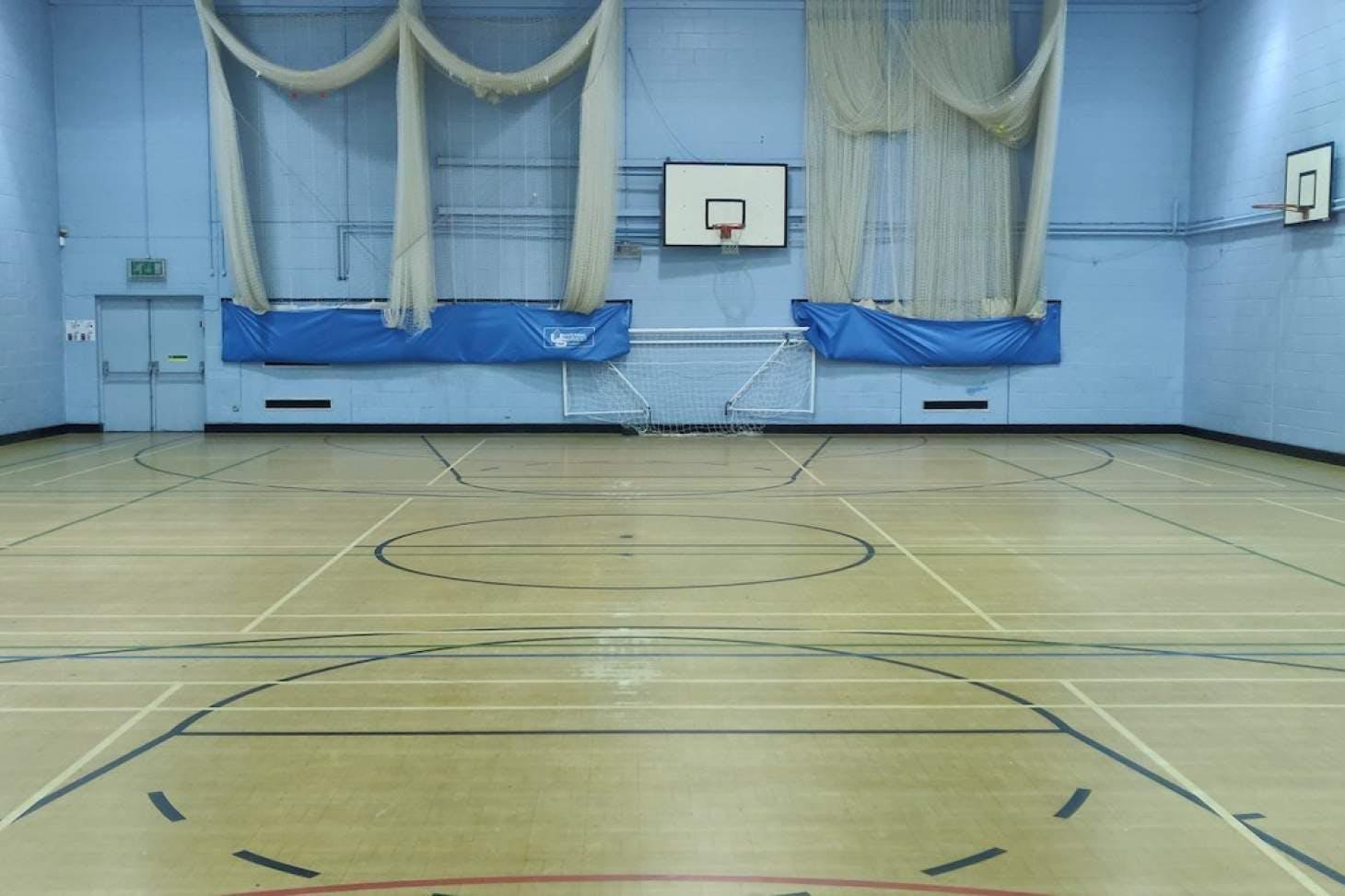 Darrick Wood School 5 a side   Indoor football pitch